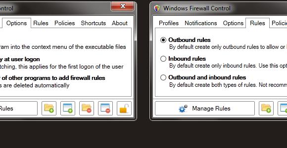 Windows Firewall Control Ekran Görüntüleri - 2