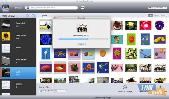 Wireless Transfer App for Mac Ekran Görüntüleri - 2