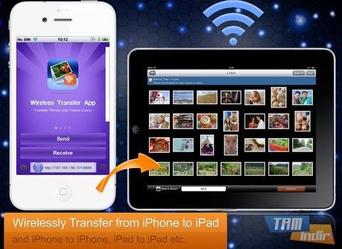 Wireless Transfer App Ekran Görüntüleri - 5