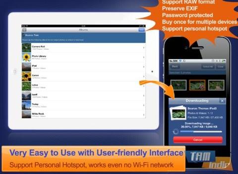 Wireless Transfer App Ekran Görüntüleri - 1