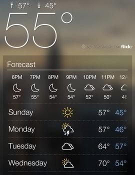 Yahoo! Weather Ekran Görüntüleri - 4