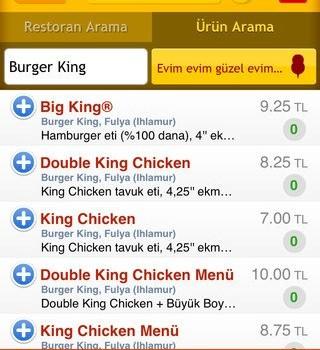 Yemekdemek Ekran Görüntüleri - 3