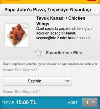 Yemekdemek Ekran Görüntüleri - 2