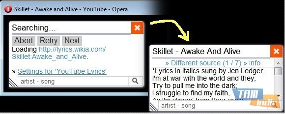 YouTube Lyrics by Rob W-For Opera Ekran Görüntüleri - 2