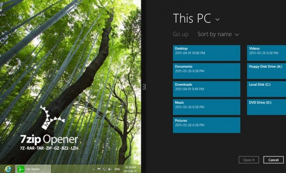 7Zip Opener Ekran Görüntüleri - 2