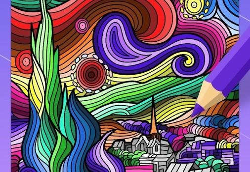 Adult Coloring Book Ekran Görüntüleri - 3