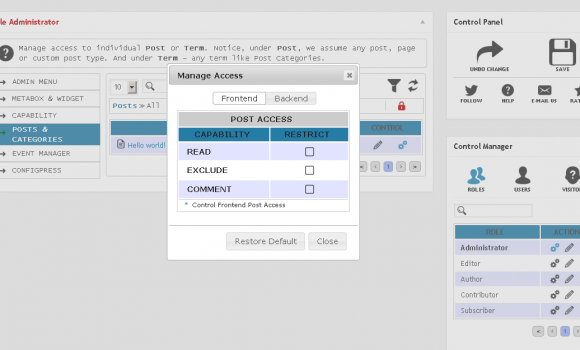 Advanced Access Manager Ekran Görüntüleri - 2