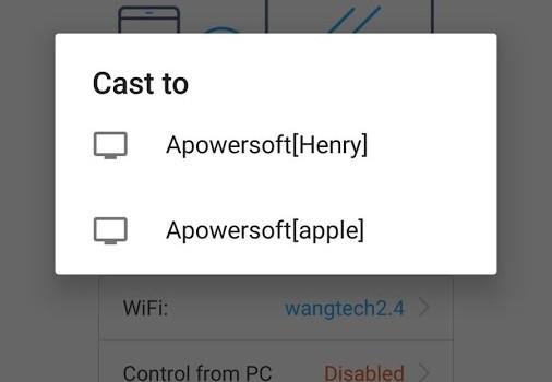 ApowerMirror Ekran Görüntüleri - 1