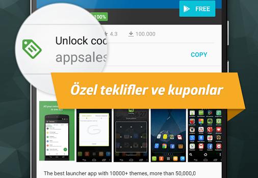 AppSales Ekran Görüntüleri - 1