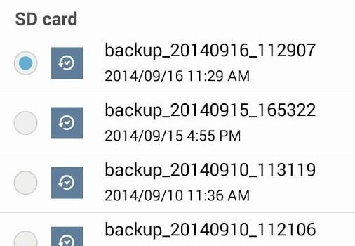 ASUS Backup Ekran Görüntüleri - 1