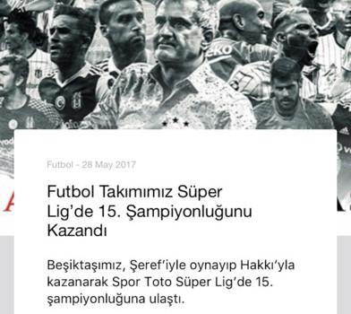 Beşiktaş JK Ekran Görüntüleri - 3