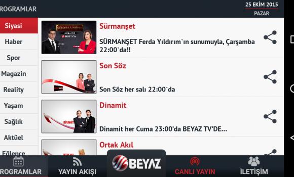 Beyaz TV Ekran Görüntüleri - 2