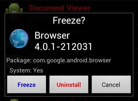 Bloat Freezer Ekran Görüntüleri - 3