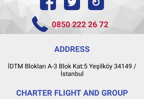 Borajet Airlines Ekran Görüntüleri - 2