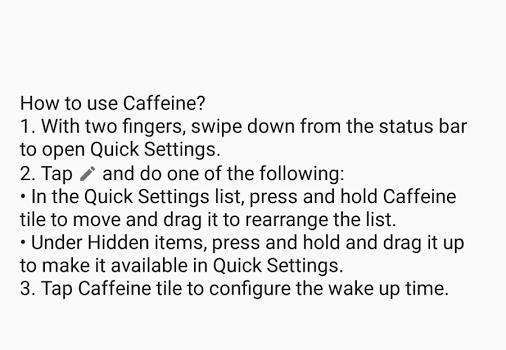 Caffeine Ekran Görüntüleri - 2