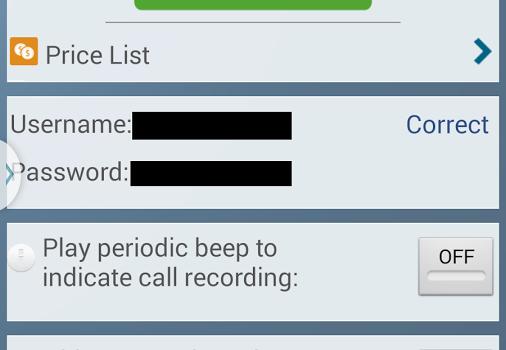 Call Recorder - IntCall Ekran Görüntüleri - 1