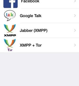 ChatSecure Ekran Görüntüleri - 1