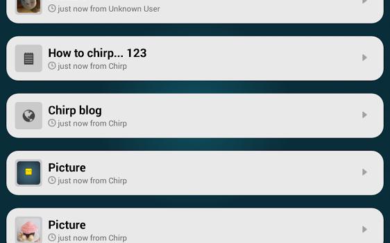 Chirp Ekran Görüntüleri - 4