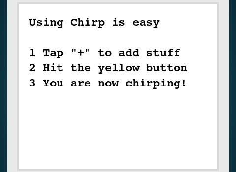 Chirp Ekran Görüntüleri - 3