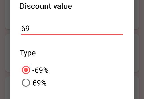 Discount Calculator Ekran Görüntüleri - 2