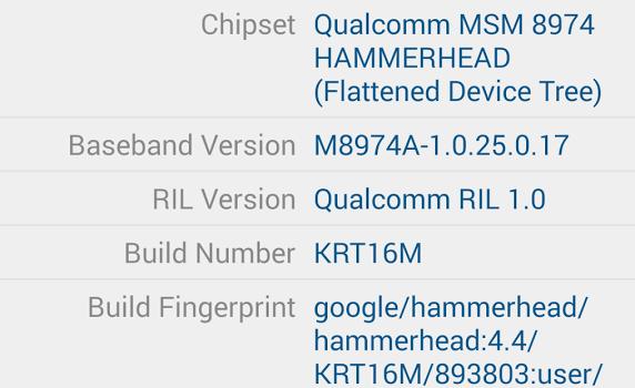 Droid Hardware Info Ekran Görüntüleri - 5