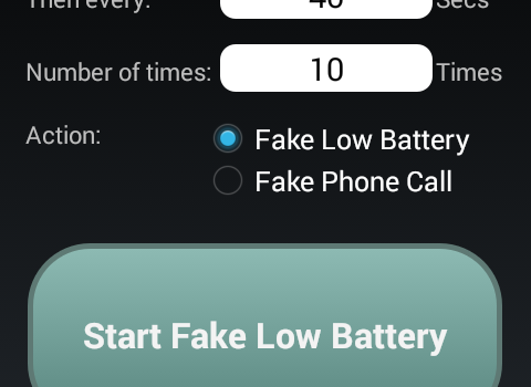 Fake Low Battery Ekran Görüntüleri - 3