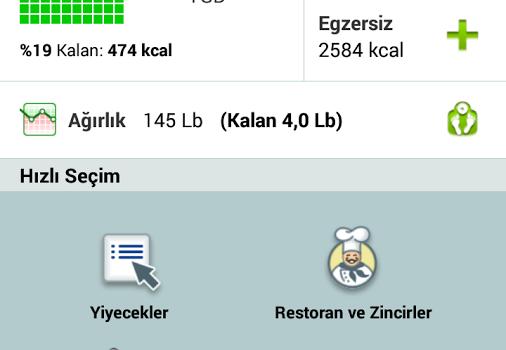 FatSecret Kalori Sayacı Ekran Görüntüleri - 5