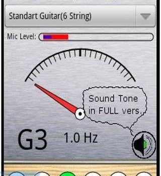 Free Guitar Tuner Ekran Görüntüleri - 3