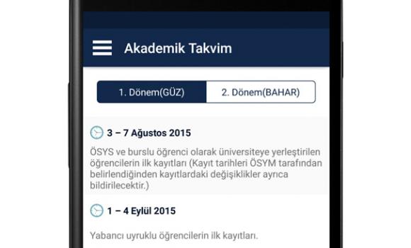 Gazi Üniversitesi Ekran Görüntüleri - 1