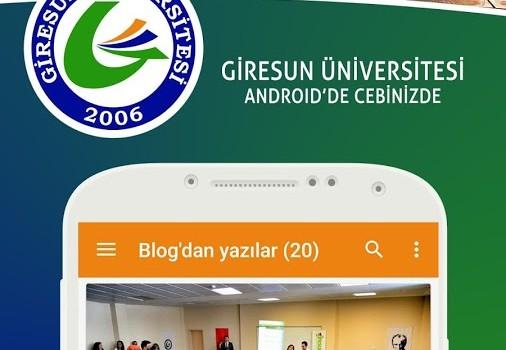 Giresun Üniversitesi Ekran Görüntüleri - 1