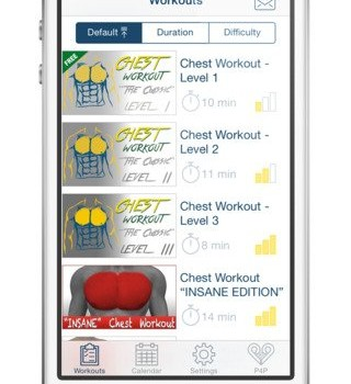 Göğüs Egzersizi Ekran Görüntüleri - 3