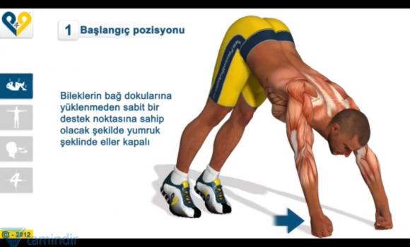 Göğüs Egzersizi Ekran Görüntüleri - 4