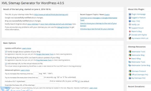 Google XML Sitemaps Ekran Görüntüleri - 2