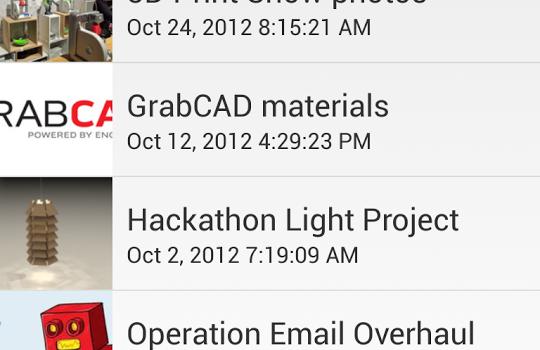 GrabCAD Ekran Görüntüleri - 1