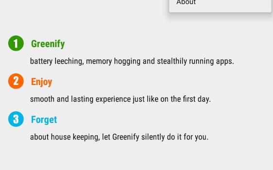 Greenify Ekran Görüntüleri - 1