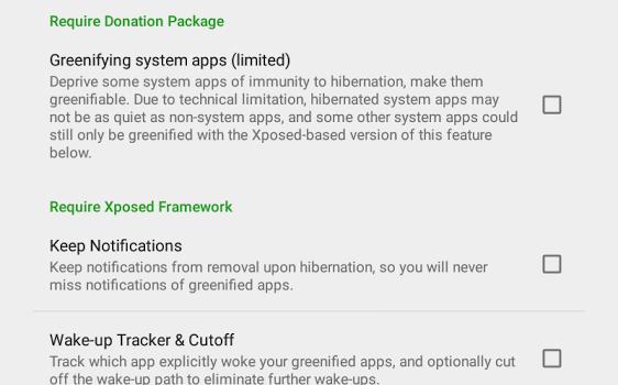 Greenify Ekran Görüntüleri - 2