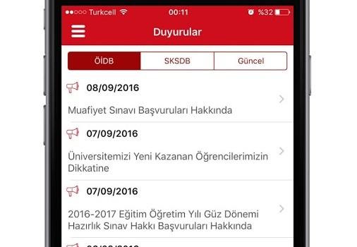 Hacettepe Üniversitesi Ekran Görüntüleri - 4