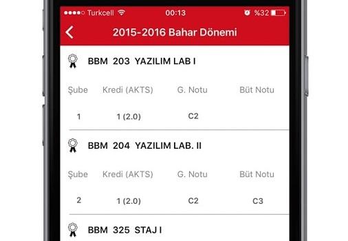 Hacettepe Üniversitesi Ekran Görüntüleri - 2