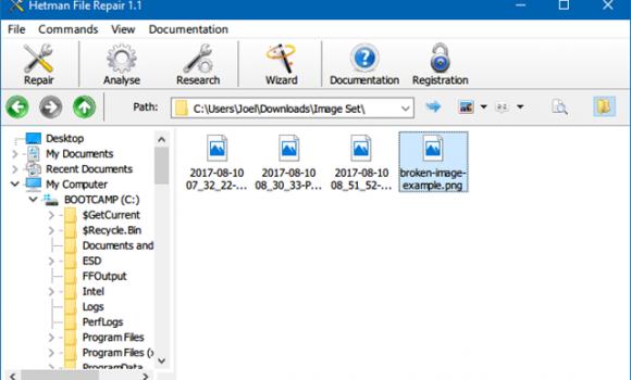 Hetman File Repair Ekran Görüntüleri - 1