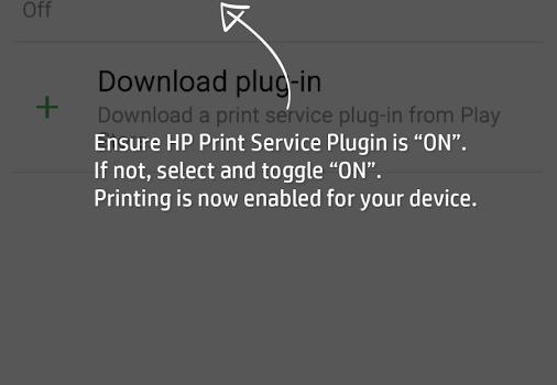 HP Yazdırma Hizmeti Eklentisi Ekran Görüntüleri - 1