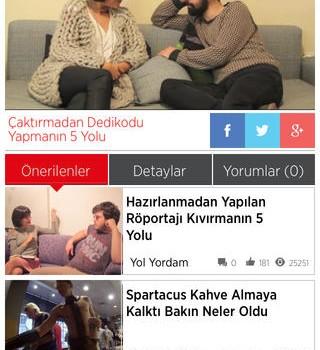 Hürriyet TV Ekran Görüntüleri - 1