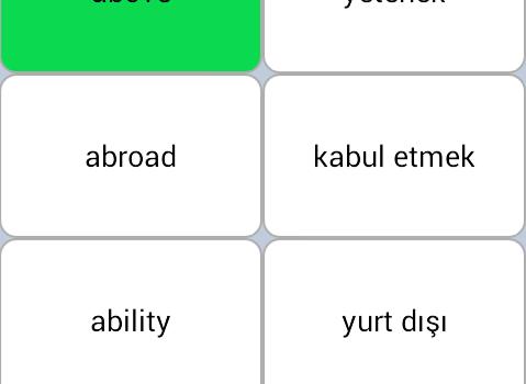 İngilizce Kelime Öğreniyorum Ekran Görüntüleri - 7