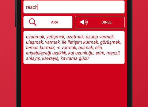 İngilizce Sözlük Ekran Görüntüleri - 2