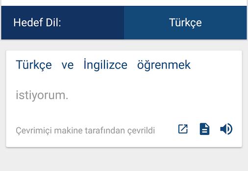 İngilizce-Türkçe Sözlük ve Çevirmen Ekran Görüntüleri - 3