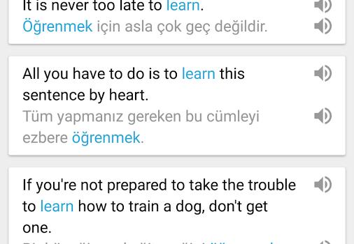İngilizce-Türkçe Sözlük ve Çevirmen Ekran Görüntüleri - 2