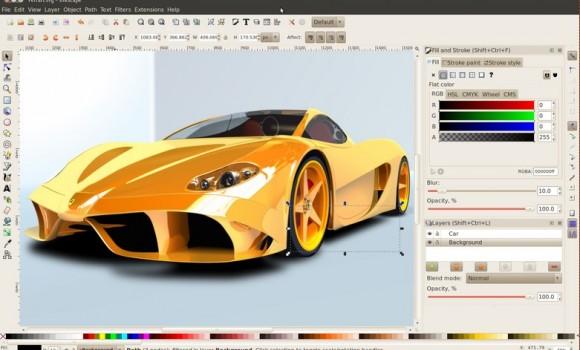 Inkscape Ekran Görüntüleri - 3