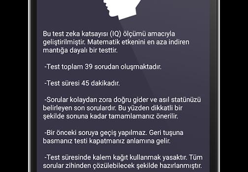 IQ Testi Ekran Görüntüleri - 4