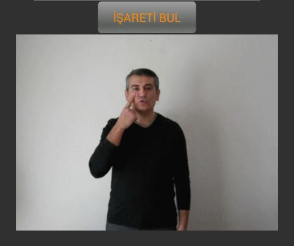 İşaret Dili Ekran Görüntüleri - 1