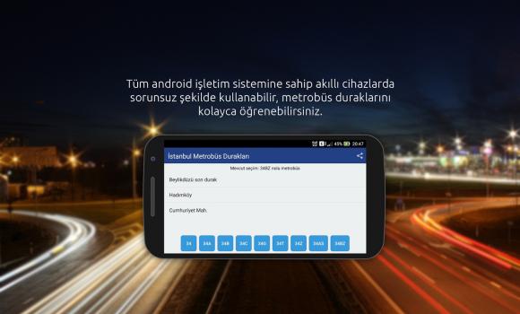 İstanbul Metrobüs Durakları Ekran Görüntüleri - 1