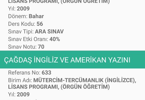 İstanbul Üniversitesi Ekran Görüntüleri - 2